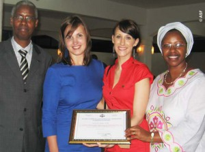 ASF received honorary award for its action in Burundi